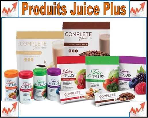 avis medical juice plus produits