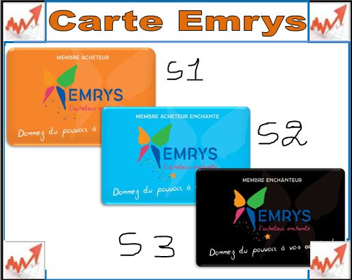 Les cartes my emrys la carte