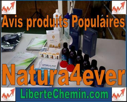 avis produits populaires natura4ever